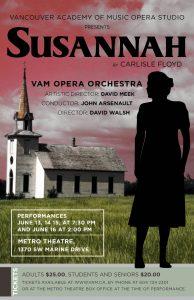 VAM Opera Studio presents: Susannah