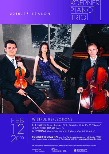 Koerner Piano Trio: Wistful Reflections