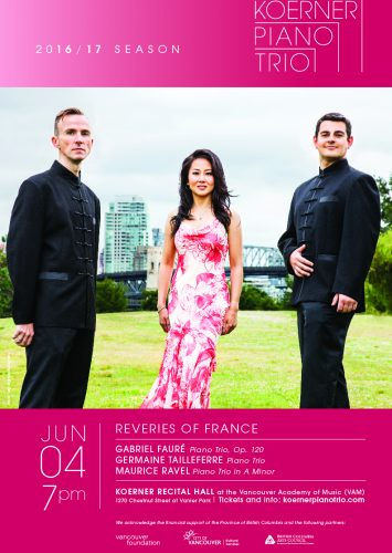 Koerner Piano Trio: Reveries of France